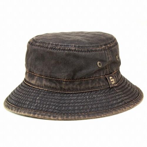 Cap Hat mens Stetson vintage bucket Hat sahari Hat  DRASCO   Brown (mail  order men winter clothes fc317830efa