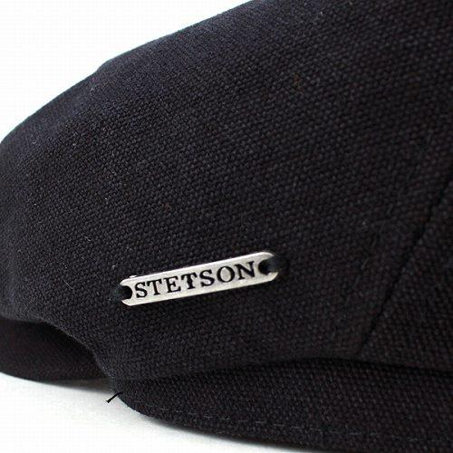 3d327e30b39 Hunting Cap Ivy newsboy Stetson cotton canvas fall winter Hat  BROOKLIN    Black  (the winter Christmas boyfriend men men s hunting men s store)