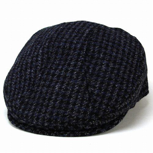 ELEHELM HAT STORE    Harris Tweed Cap Hat check Tweed pattern New ... 8fe7e431661