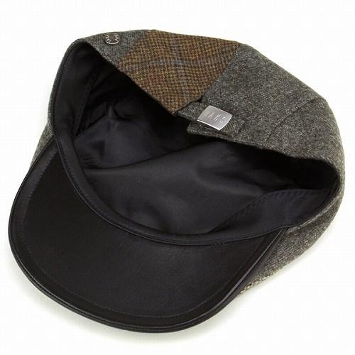DAKS Hunting Hat mens / ducks winter hunting Cap / multi pattern wool material / khaki