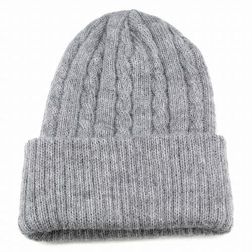 92fdcfe86ad Knit hat women s mens fall winter Alpacas 100% watch mens Hat cable knit  simple luxury light grey Gifts Christmas gifts (knit hat shirts hats winter  men ...