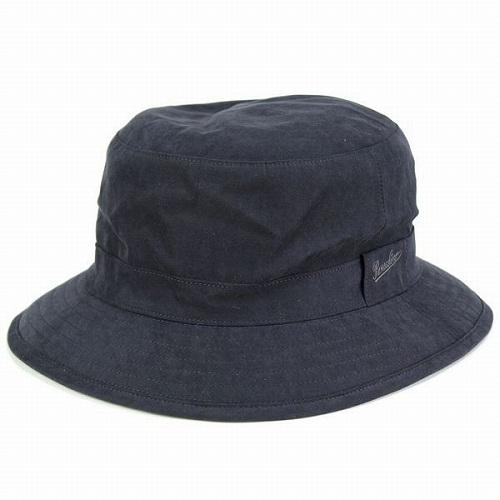 ボルサリーノ borsalino サファリハット 帽子 アウトドア ゴアテックス ボルサリーノ バケットハット GORE-TEX シンプル タフ ブラック 黒 送料無料 [bucket hat] (メンズ 撥水生地 帽子 アウトドア ファッション GORE-TEX社 帽子 通販 )