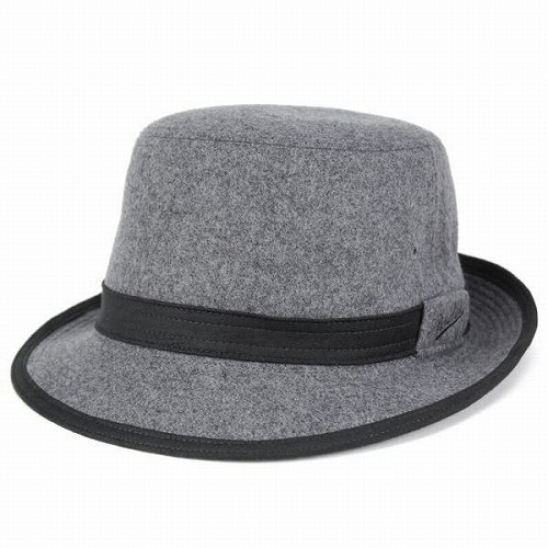 85c8e0318f2 ELEHELM HAT STORE  Borsalino borsalino   Hat men s Alpen hat and flannel  wool men s clothes   Melton autumn winter   gray gray (fall for fall winter  ...