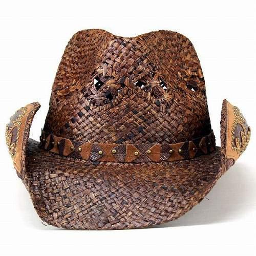 카우보이 모자 모자 맨 즈 레이디스 내츄럴 하드 믹스 레이스 짜 피터 쿡 pgd4028 Jarales 브라운 여성 소품 남성 봄 여름 선물 선물 아웃 도어 [cowboy hat] (모자 쇼핑몰 ぼうし 어머니날 아버지 날)
