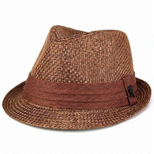 d2779890 Hat men's / hat / hemp linen / turu Hat luster / spring summer / Stacy Adams  import / Brown (bladder and gift dress Hat) (10P07Nov15)