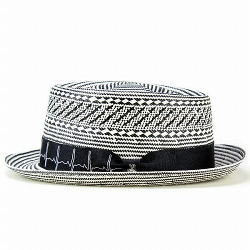 8eec39ae701 Straw Hat men s   spring summer pork pie Hat boaters Hat   Carlos Santana  hats fashionable monotone  Healer   black (hat shop hats)