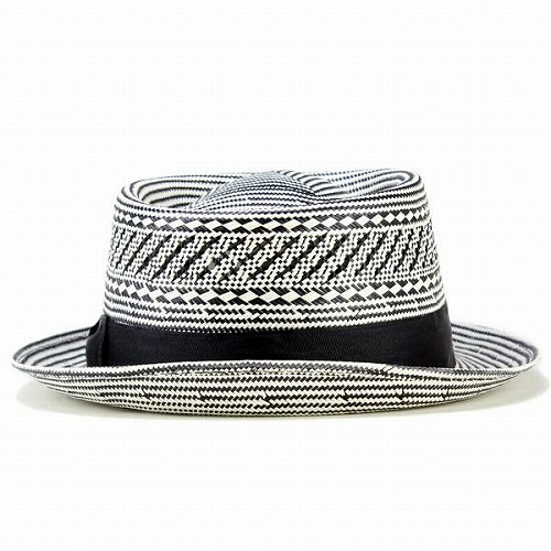21fa58dea04 Straw Hat men s   spring summer pork pie Hat boaters Hat   Carlos Santana  hats fashionable monotone  Healer   black (hat shop hats)