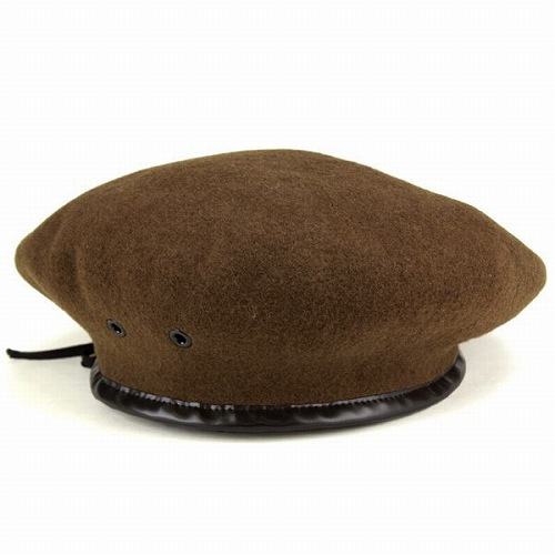 b64a91fad7860 Army beret Hat wool Basque beret Hat military mens women Hat Monty beret  khaki (fall winter merchandise men s beret and army beret women s)