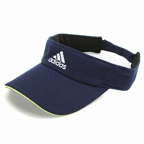 bc5ab8ad ELEHELM HAT STORE: adidas sun visor mens visor ladies Hat accessories adidas  UV cut Golf sports running Navy College Navy [visor] (men's women's visor  ...