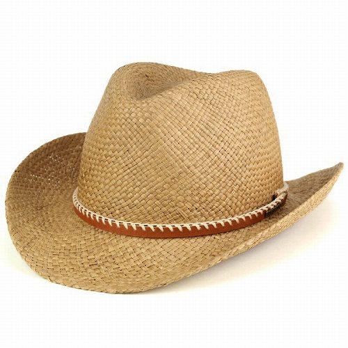 カウボーイハット STETSON ステットソン 春夏 高級素材 パナマハット ステットソン メンズ レディース 帽子 天然繊維 ツバ広 テンガロン ブラウン シナモン 小物 カジュアル プレゼント [cowboy hat] アウトドア 送料無料