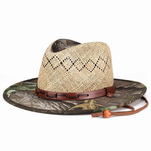 2a8fd2ea Cowboy hat men's / men's straw hats / real Camoflage pattern hat and straw  hat wide ...