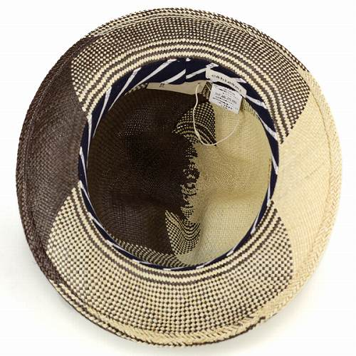 Mountain hut / Panama / cable am /cableami / dress / hat / size adjustment or personality / long Hat / Brown / Brown (ELEHELM hat store specialty shops gifts)