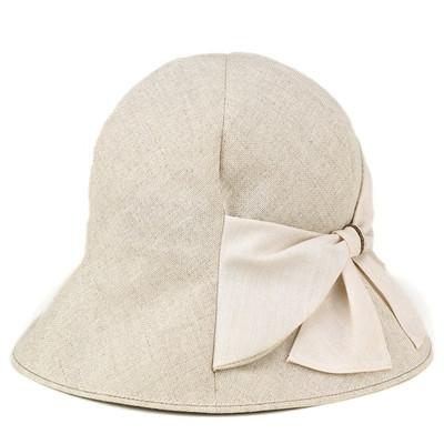 Tulip Hat women s   hat Lady   shade UV cut   spring summer linen canvas   elite chapeau   beige f20f60bea3b