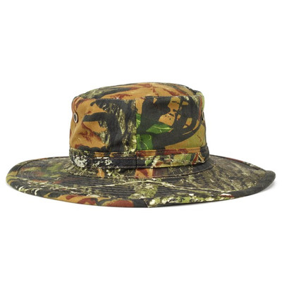 Boonie Hat camouflage jungle Hat adventure mossyoak cotton canvas military BREAK UP (NBU)