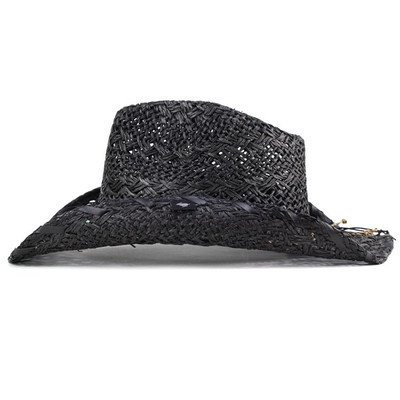 d94d1fbfb1c0a PETER GRIMM   Peter grim Indian   stone cowboy hat   fedora   spring summer  pgd3071 YOUTOO   black.