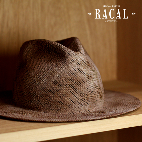 Racal Hat men s straw hat and local spring   summer cool Hat vintage    damage special processing and natural fiber Palm   Brown Brown (ELEHELM hat  store ... 9b81f82709b