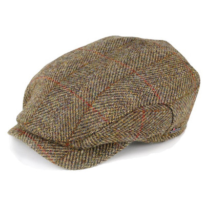 ELEHELM HAT STORE  Hunting mens Wigan Harris Tweed Hat autumn winter ... 4efdbf3f466e