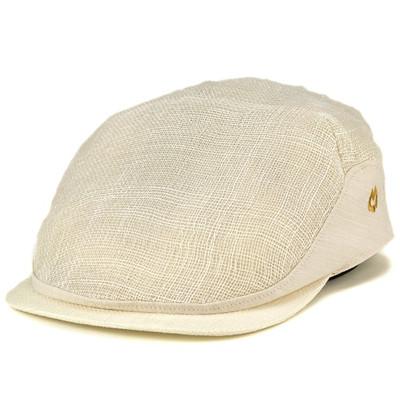 ミラショーン mila schon 40代 50代 60代 70代 ファッション ブランド帽子 シナマイ 春夏 ハンチング マニラ麻 天然 シック 生成 オフホワイト [ivy cap] 送料無料(メンズキャップ帽子 紳士帽子 白 メンズ ハンチング帽子 男性 おしゃれ 通販 かっこいい ぼうし) 父の日