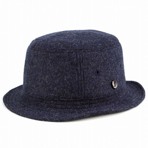 38e5f526fdc Navy Navy bucket Hat men s autumn winter borsalino double face flannel  Safari photographer (hat autumn winter borsalino Hat sahari Hat borsalino  hats ...