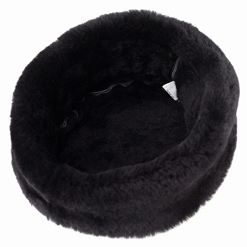 d2b59bf1d01 Russia Cap Mouton   cold Cossack Hat   autumn winter Hat fashion  dalena  Darren   leather fur and black black.