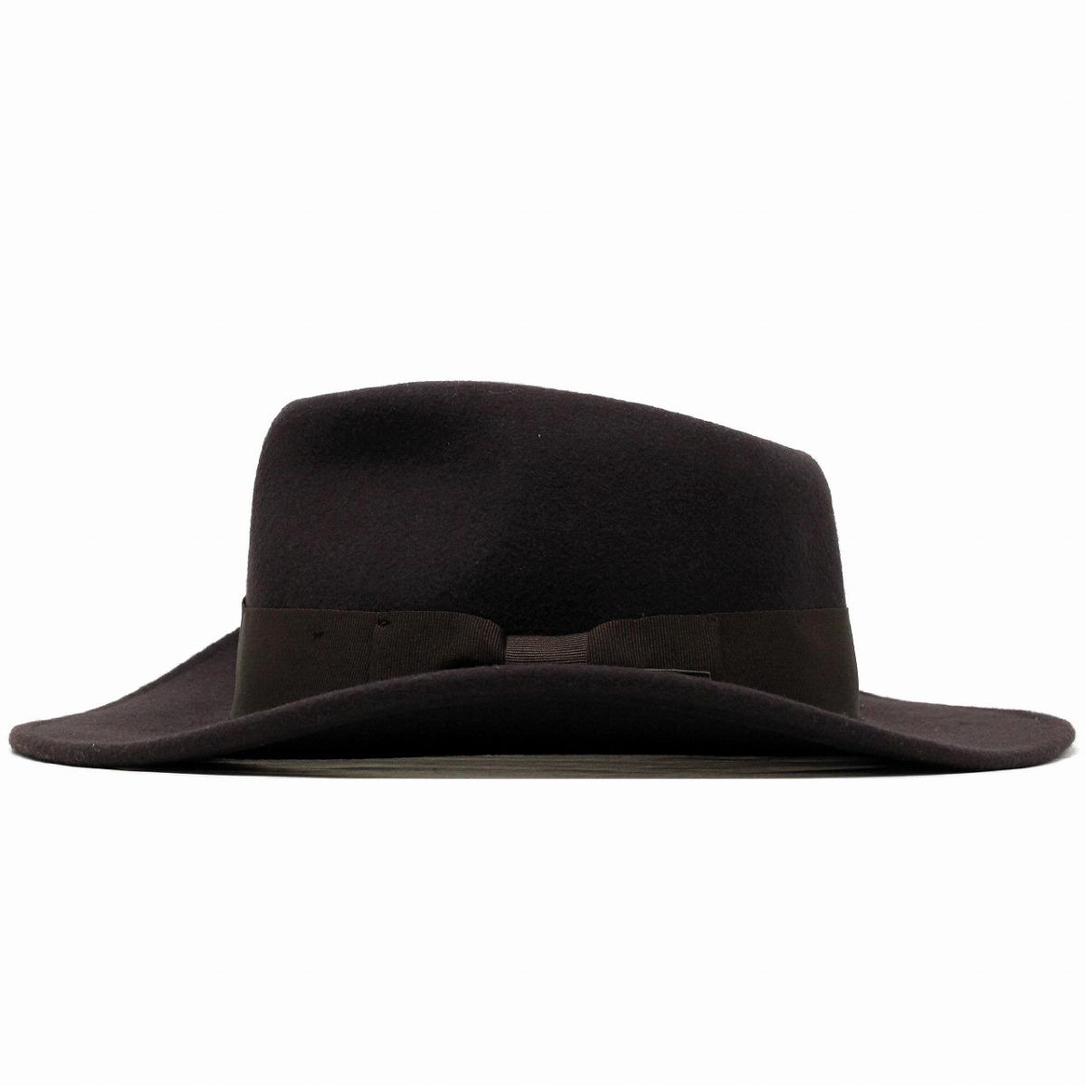 Men/'s 100/% Crush-able Wool Felt  Indiana Jones Cowboy Outback Western Fedora Hat