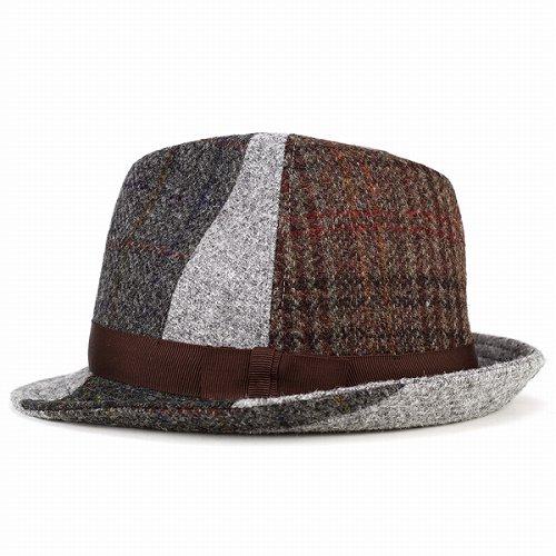 fd0e06a707d60 Hats mens-casket kaszkiet   Harris Tweed patchwork   turu Hat autumn winter    multi pattern (10P07Nov15)