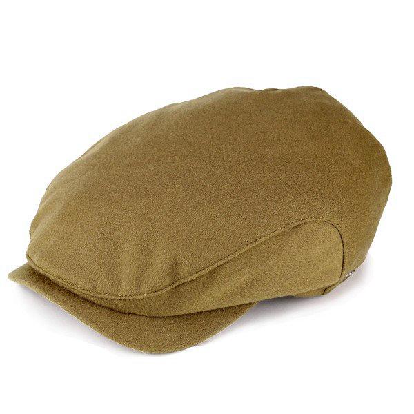 wigens ハンチング メンズ Wigens 帽子 紳士 シンプル カジュアル ストームシステム ロロ・ピアーナ キャメル ヴィゲーンズ