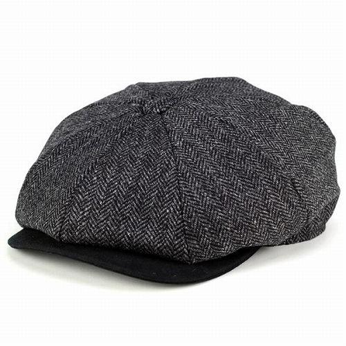 a3ad66189c5bb ELEHELM HAT STORE  Casket classic hats   Christie s Cap and Tweed winter   quot Baker Boy quot    grey herringbone