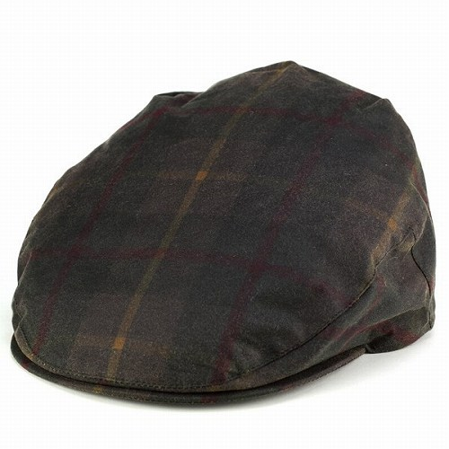 "London/british millerain wax cotton Ivy Cap Hunting Hat CHRISTYS 'LONDON Christie's Cap /chiristys' ""Balmoral"" and Tartan olive Greens"