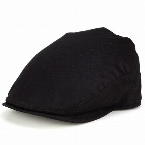 CHRISTYS' LONDON 帽子 ハンチング 大きいサイズ カシミヤ メンズ 帽子 XLサイズ クリスティーズ ハンチング帽 メンズ ハンチング帽子 紳士 カシミア素材 高級 クリスティーズロンドン 高級 上質 Balmoral 黒 ブラック [ ivy cap ]