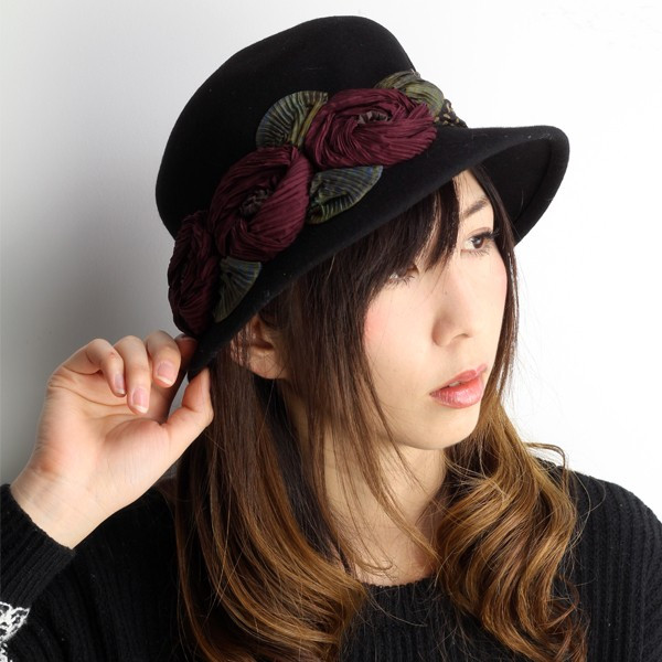 elehelm hat store rakuten global market grevi flower decoration