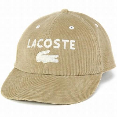 b3e9311416c ELEHELM HAT STORE  LACOSTE corduroy caps Lacoste Hat autumn winter ...