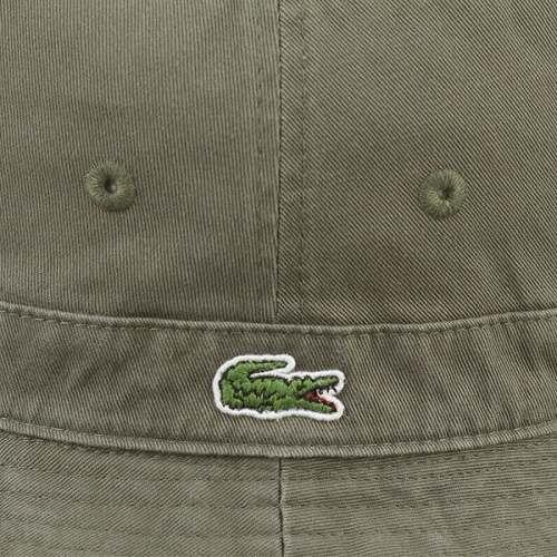 LACOSTE bucket Hat Lacoste Hat Safari hat (green)