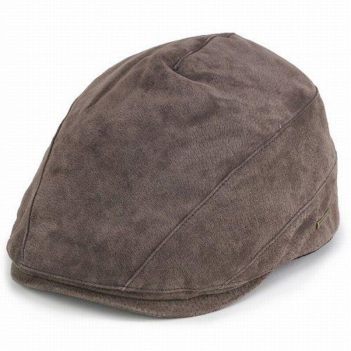 STETSON ハンチング ステットソン 帽子 メンズ スエード ハンチング 秋冬 防寒 トープ