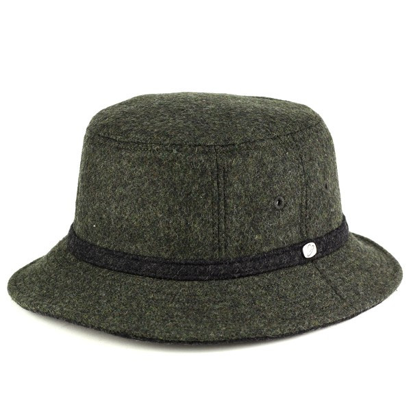 Bucket Hat Safari borsalino borsalino double face flannel fall winter Hat  khaki  bucket hat 996226594ad