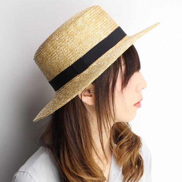 Boater ladies spring summer straw hat men s straw Dorfman Pacific brooklyn  hat Brooklyn Hat boaters hat (straw hut 50s of straw 0773365bb94d