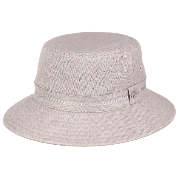 ELEHELM HAT STORE  Hats mens borsalino Hat Borsalino Safari Hat linen  spring summer small size large size 3 l 4 l Japan-made linen 100% grey  (Sahali Hat ... 9375f338b4d