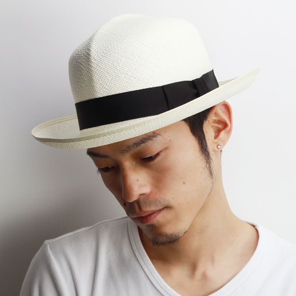 Hat Christie collar wide Hat mens hair spring summer straw hat brim wide Panama  Optimo CHRISTYS ... a531fce896ee