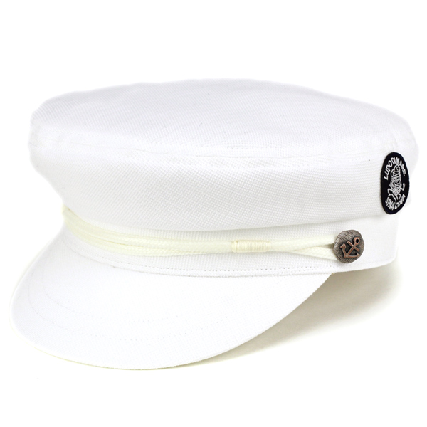 303abd8afefc23 ELEHELM HAT STORE: Marine Cap men's / sinkova spring summer SINACOVA marine  Cap ladies Hat men's marine summer Hat Captain Cap polo shirt with knit  Japan ...