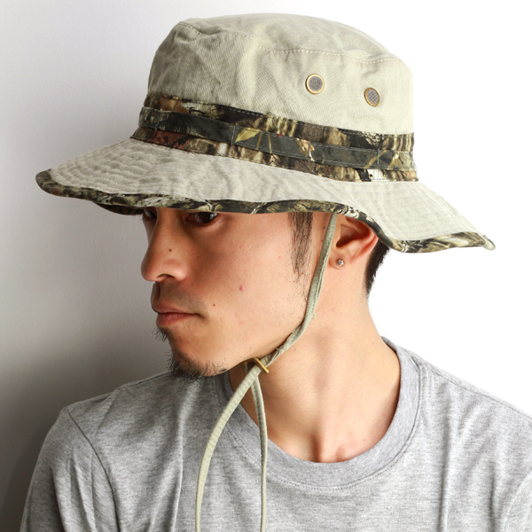 Hats men s spring summer hats UV protection sahari Hat men s Boonie Hat  Twill real Camoflage military ... e6d7fde7189