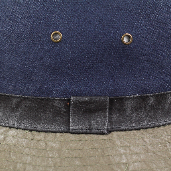 Hat mens sahari Hat Hat awning damage processing Dark Navy Blue (mountain Safari Hat photographer men's alpine hut Festival baguette Hat bucket Hat adventure Hat safari Hat) [10P01Oct16]