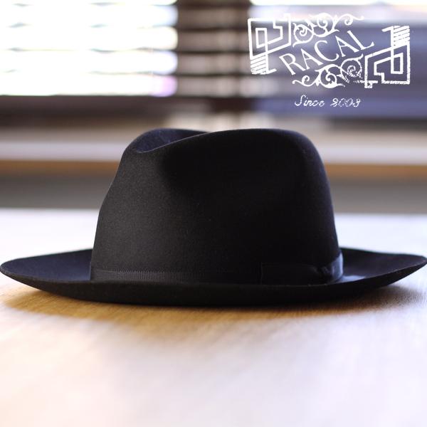 rycyl Hat mens collar wide tear drop large hats foldable rabbit wool felt  Japan-made ... df6f90544d5