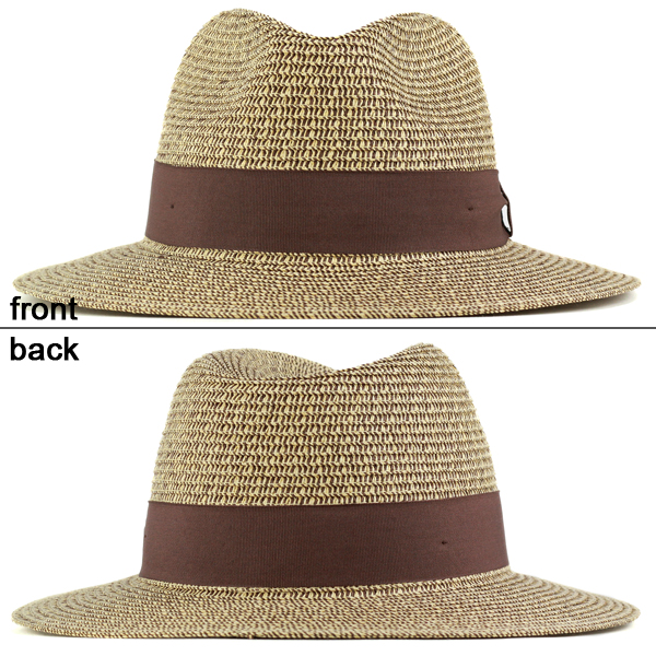 6ccdc5d783d ... It's tasty outfit MIX Brown Ribbon wide-brim hat [straw hat, hat  women's ...