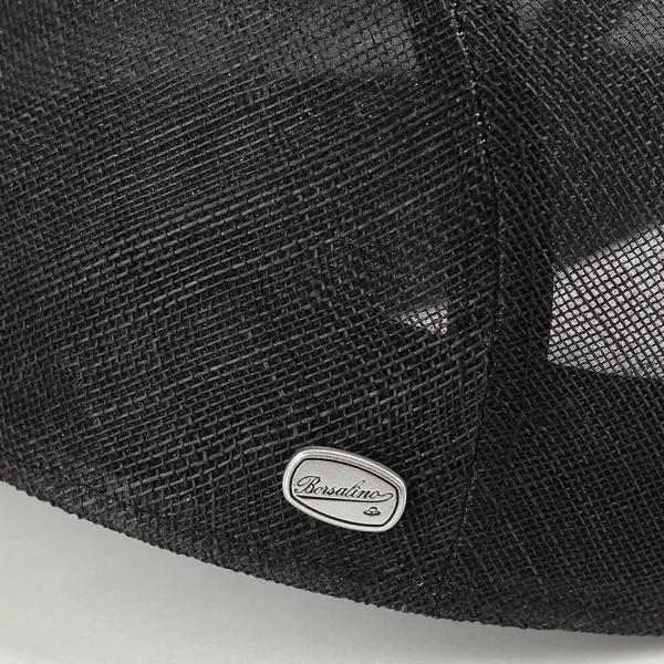 보르사리노한팅멘즈 모자 환기성 발군 헌팅모봄과 여름 신사 세멘시나 마이 천연 섬유 ivycap borsalino hunting 일본제흑블랙[ivy cap] (여름용 맨즈 모자 맨즈 모자 통판 신사 모자)