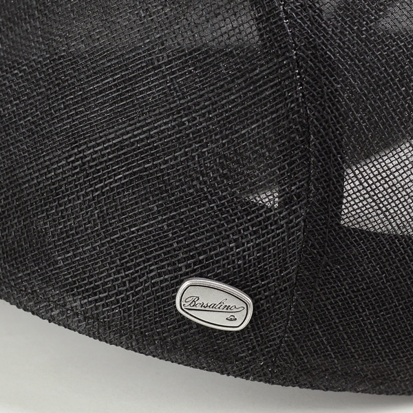 Borsalino Cap men Hat breathable outstanding hunting Cap spring summer gentlemen sinamay natural fiber /ivycap borsalino hunting / made in Japan / black (for the summer men's hat mens CAP and store men's hats) (senior day)