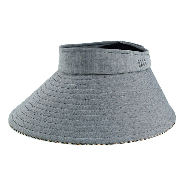 fb94da7a ELEHELM HAT STORE: Sun visor wide brimmed ducks shade visor UV measures  cotton / hemp slab chambray ladies UV DAKS made in Japan kurglvaisser  awning women ...