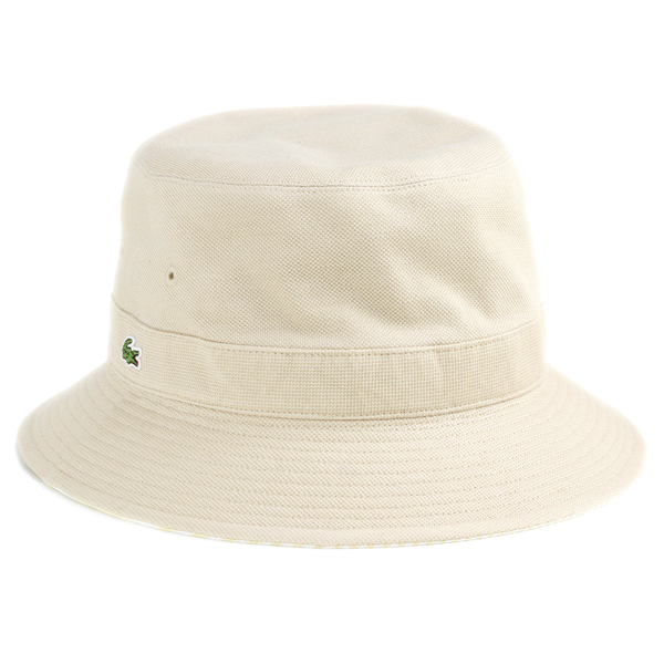 31616a181cb Lacoste Hat Sun Hat reversible Safari Hat spring summer Hat striped Lacoste  mens bucket Hat   Hat gentleman   polo hat   made in Japan Hat   beige  giveaway ...