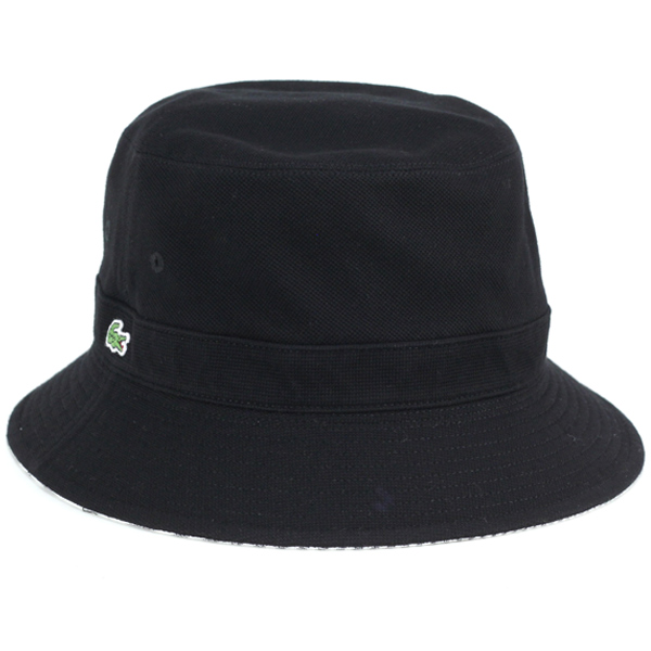 2c97e69db9b93 Lacoste Hat Sun Hat reversible Safari Hat spring summer hats men s bucket  Hat Hat hat made in Japan black black stripes (climbing photographer hats  ...