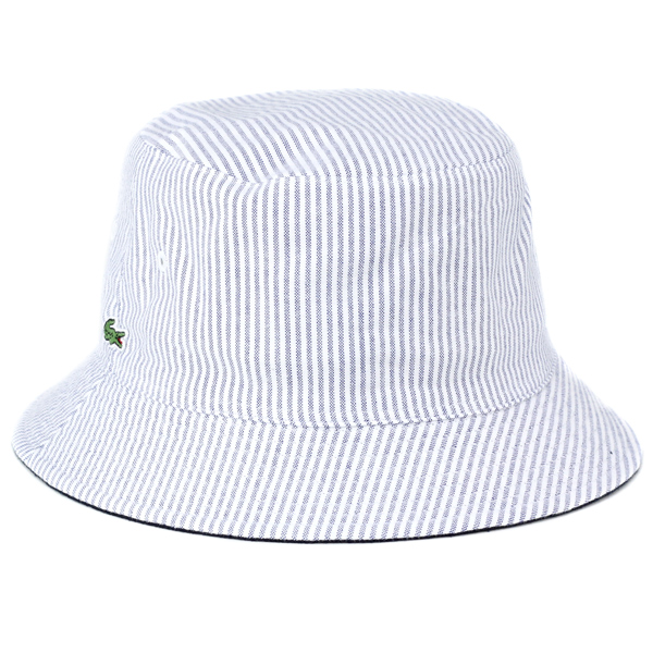 2f4d2f1d603fc Lacoste Hat Sun Hat reversible Safari Hat spring summer Hat striped Lacoste  men s bucket Hat   Hat gentlemen   polo hat   made in Japan Hat   Navy Navy  ...