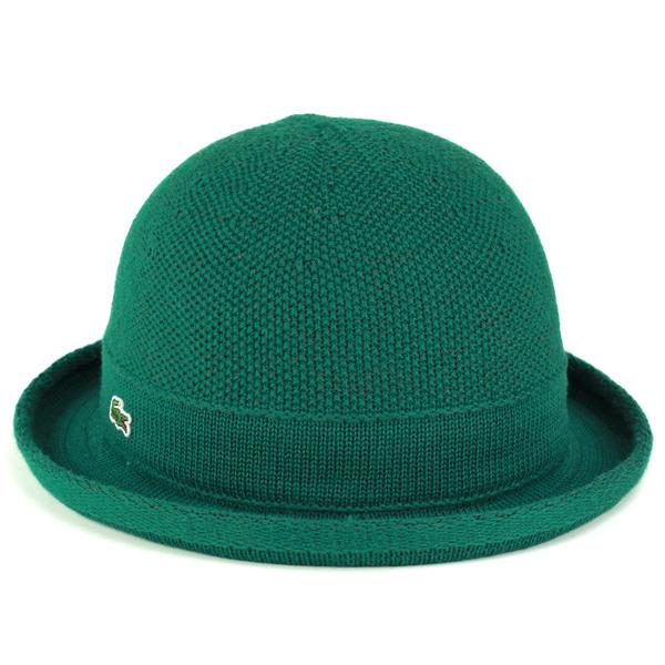 994946019b ELEHELM HAT STORE  LACOSTE Boler Hat men s hats women s outfit Lacoste Hat  Polo knit nit bowler size adjustable fall winter model Green Green  (fall winter ...